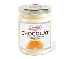 Шоколадный крем белый с хрустящим апельсином, 235 гр.