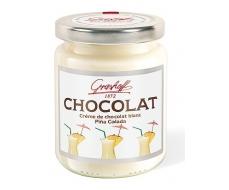 Шоколадный крем белый Пина Колада, 235 гр.