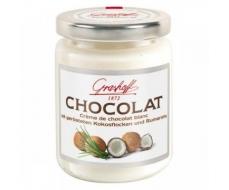 Белый шоколадный крем с кокосом и ромом, 250 гр.