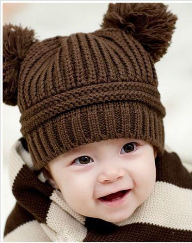 Вязаные детские шапки 2014